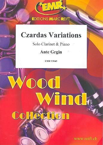 Czardas-Variationen: für Klarinette und Klavier