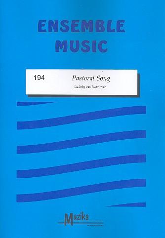 Pastoral Song: für gem Ensemble Partitur und Stimmen