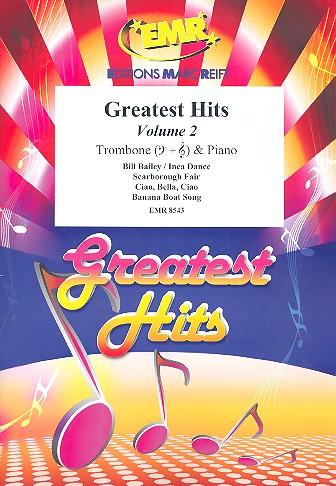 Greatest Hits Band 2: für Posaune und Klavier (Percussion ad lib)