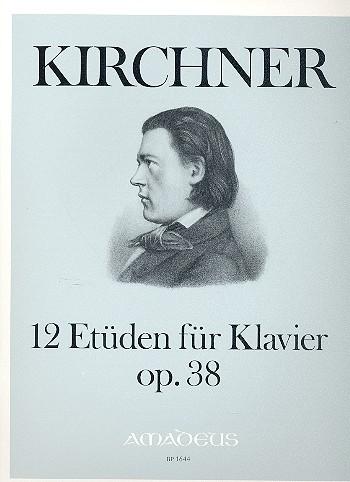 12 Etüden opus.38: für Klavier