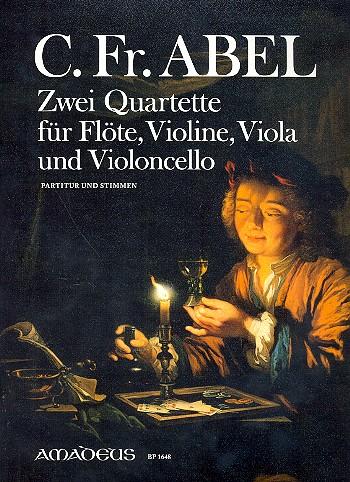 2 Quartette: Föte/Violine/Viola/Violoncello