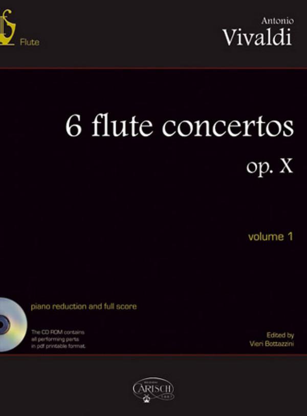 Vivaldi, Antonio - 6 flute concertos op.10 vol.1 (nos.1-3)