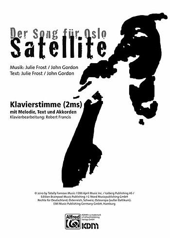 Satellite: Einzelausgabe für Gesang und Klavier