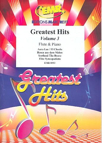 Greatest Hits Band 3: für Flöte und Klavier (Percussion ad lib)