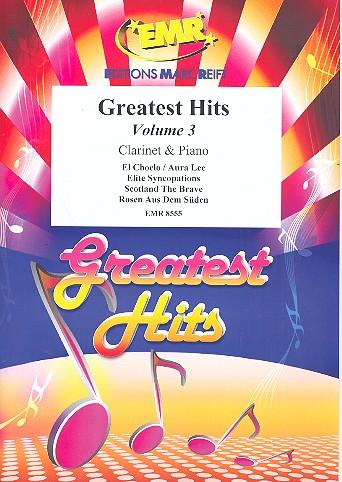 Greatest Hits Band 3: für Klarinette und Klavier (Percussion ad lib)