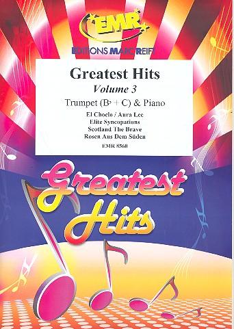 Greatest Hits Band 3: für Trompete und Klavier (Percussion ad lib)