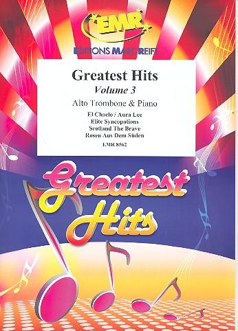 Greatest Hits Band 3: für Altposaune und Klavier (Percussion ad lib)