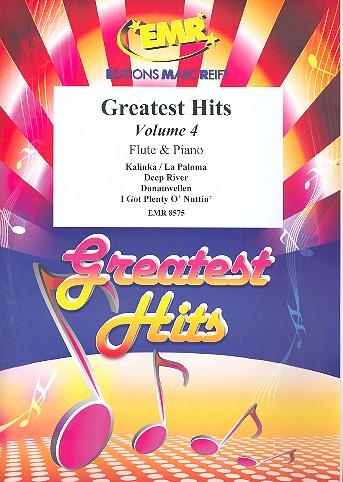 Greatest Hits Band 4: für Flöte und Klavier (Percussion ad lib)