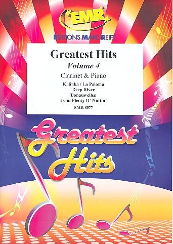 Greatest Hits Band 4: für Klarinette und Klavier (Percussion ad lib)