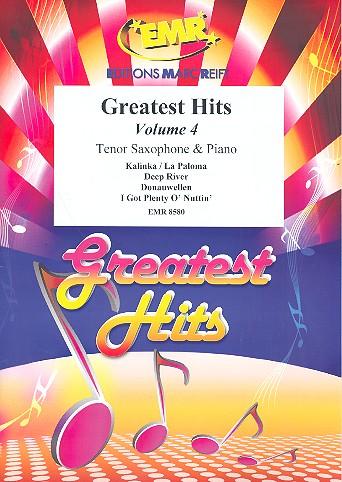 Greatest Hits Band 4: für Tenorsaxophon und Klavier (Percussion ad lib)