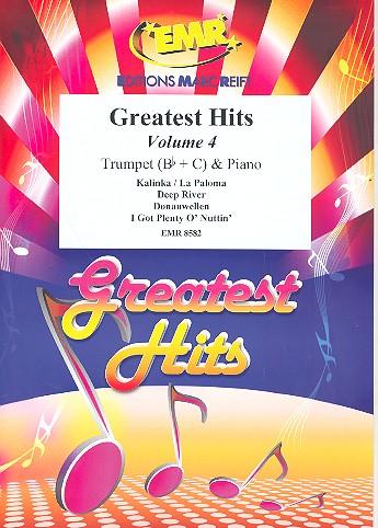 Greatest Hits Band 4: für Trompete und Klavier (Percussion ad lib)