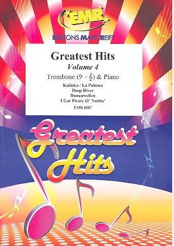 Greatest Hits Band 4: für Posaune und Klavier (Percussion ad lib)