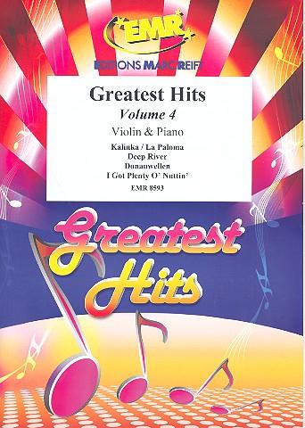 Greatest Hits Band 4: für Violine und Klavier (Percussion ad lib)