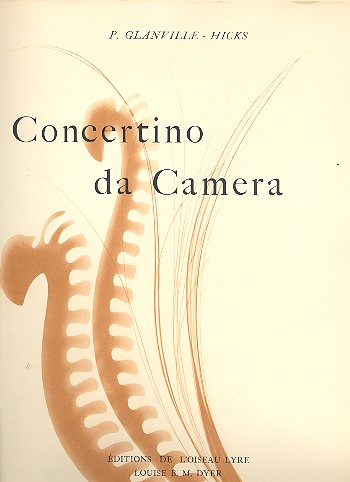 Concertino da camera: pour flute, clarinette, basson et piano