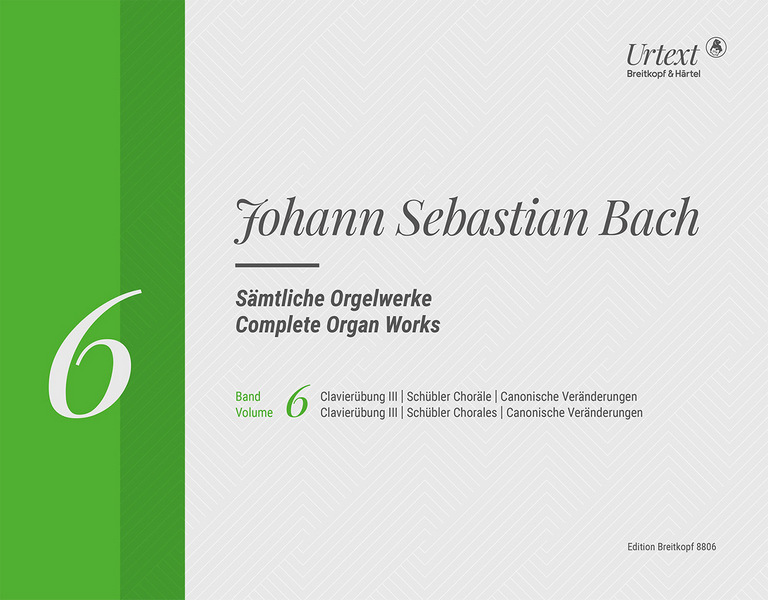 Bach, Johann Sebastian - Sämtliche Orgelwerke in 10 Bänden Band 6 :