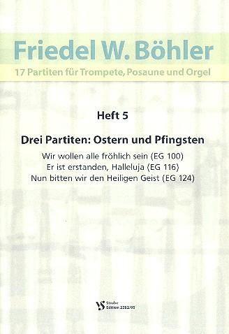 17 Partiten Band 5: für Trompete, Posaune und Orgel