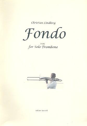 Fondo: for solo trombone