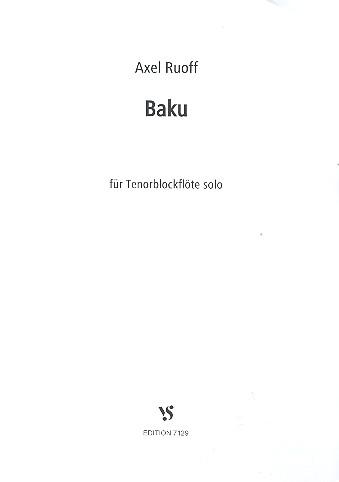 Baku: für Tenorblockflöte