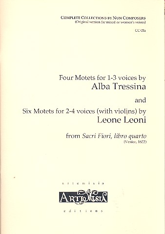 10 Motets: for 1-4 voices (chorus) score