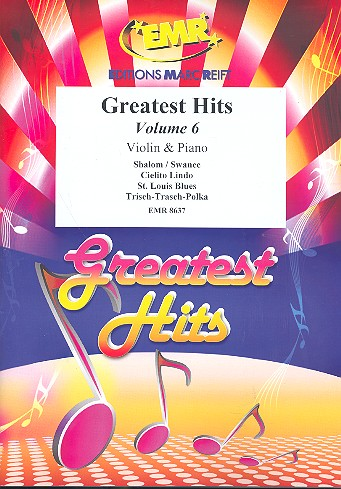 Greatest Hits vol.6: for 2 violins and piano (Percussion ad lib)