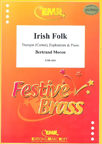Irish Folk: for trumpet (cornet), euphonium and piano