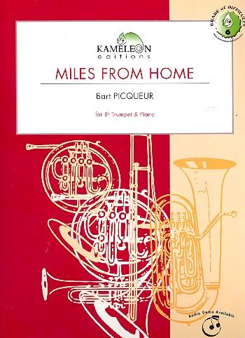 Miles from Home: für Trompete und Klavier