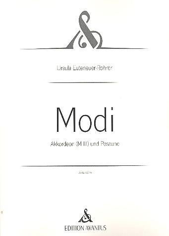 Modi: für Akkordeon und Posaune