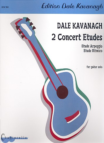 2 Concert Etudes: for guitar