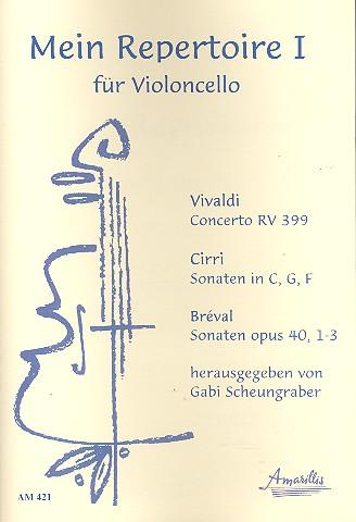 Mein Repertoire Band 1: für Violoncello