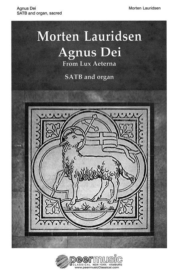 Agnus Dei: for mixed chorus and organ