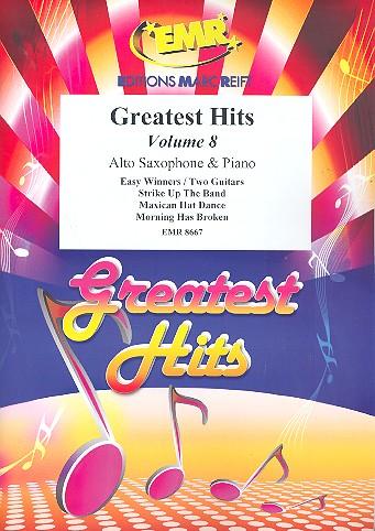 Greatest Hits Band 8: für Altsaxophon und Klavier (Percussion ad lib)