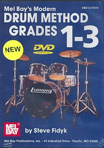 Modern Drum Method Grade 1-3: DVD