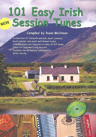 101 Easy Irish Session Tunes: for melody instruments