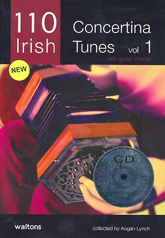 110 Irish Button Concertina Tunes vol.1 (+CD): for concertina