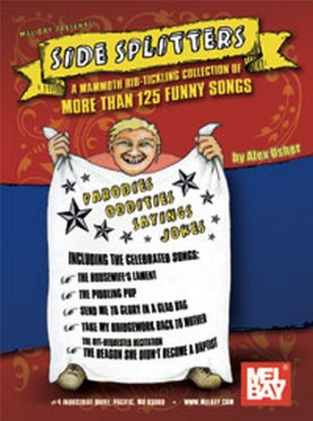 Side Splitters: Songbook Vocal/guitar