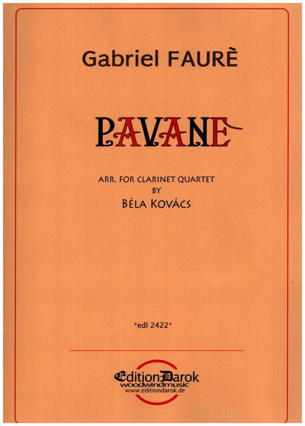 Fauré, Gabriel Urbain - Pavane op.50 :