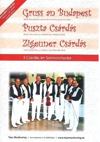 3 Csárdás: für Salonorchester