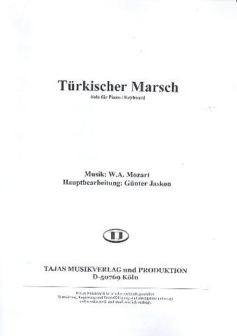 Türkischer Marsch: für Klavier (B-Instrumente) und Salonorchester