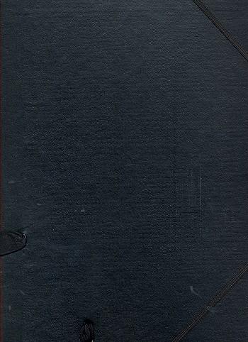 Chormappe Star669A mit Mehrausstattung schwarz