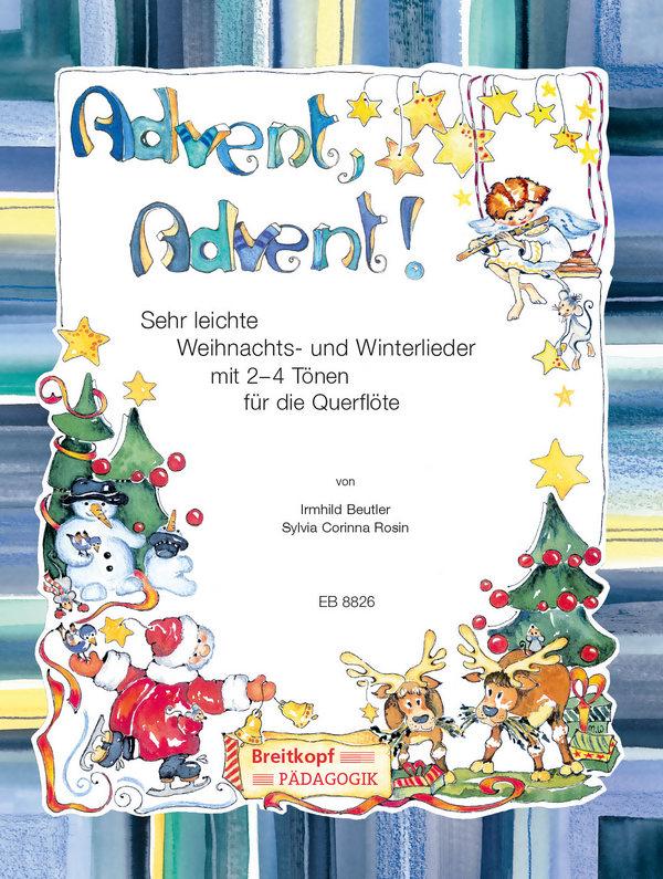 Advent Advent: für 1-2 Flöten (Klavier/Gitarre ad lib)