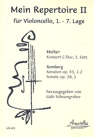 Mein Repertoire Band 2: für Violoncello