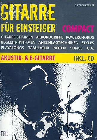 Gitarre für Einsteiger compact (+CD) für Gitarre/Tabulatur