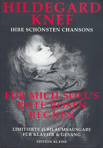 Hildegard Knef: Ihre schönsten Chansons Songbook für Klavier/Gesang/Gitarre