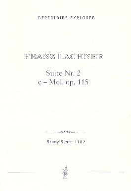 Suite e-Moll Nr.2 opus.115: für Orchester