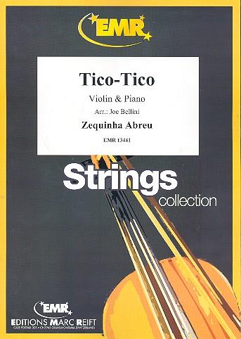 Abreu, Zequinha - Tico-Tico : for violin and piano