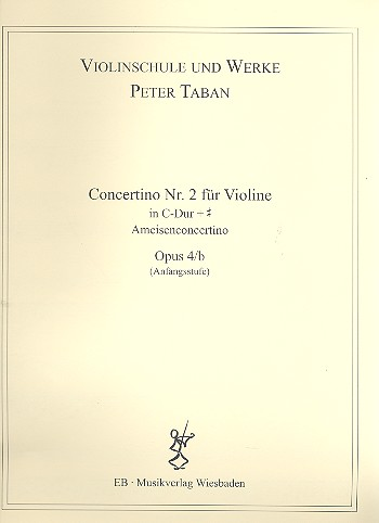 Concertino C-Dur Nr.2 opus.4b: für Violine und Klavier