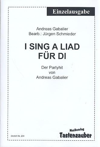I sing a Liad für di: für Akkordeon (mit Text und Akkorden)