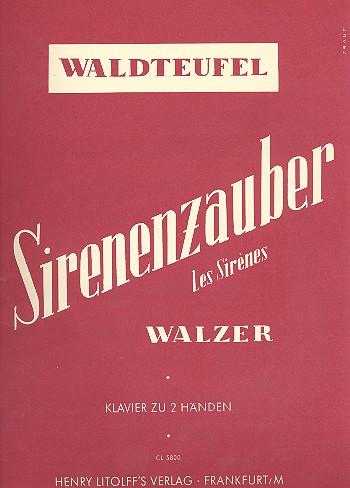 Sirenenzauber opus.154: für Klavier