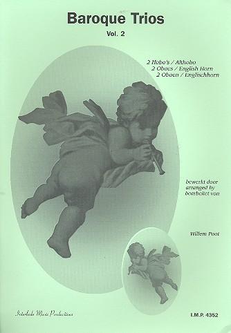 - Baroque Trios vol.2 : für 2 Oboen und