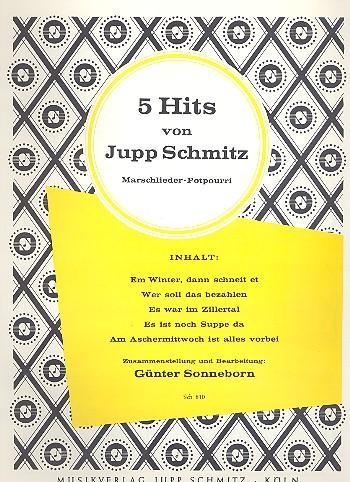 5 Hits von Jupp Schmitz: Potpourri Gesang uind Klavier